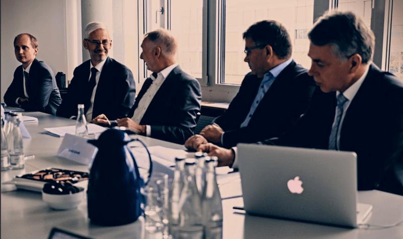 Pressekonferenz zur Verlängerung der Förderung um zwei Jahre. Foto: Nico Niemeyer/#mitunsdigital