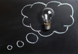 Gedanken Idee Innovation