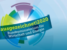 Logo des Innovationspreises Reallabore 2020