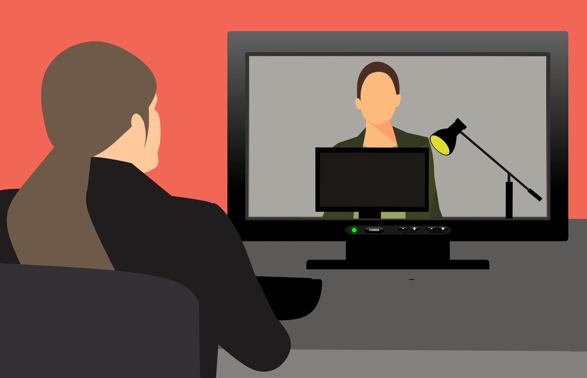 Symbolfoto Videokonferenz