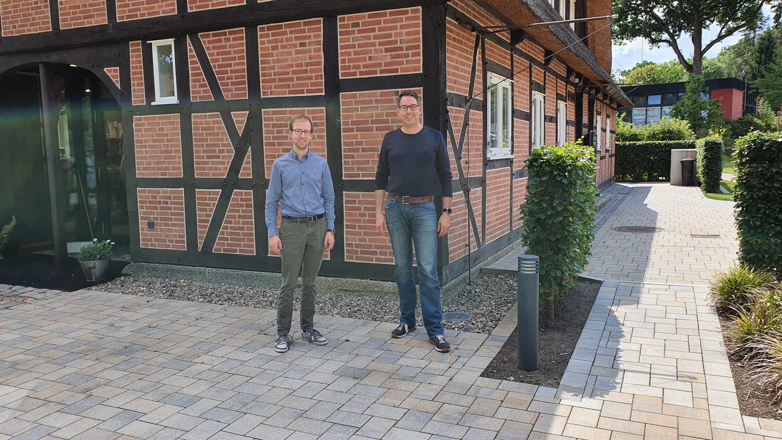 Christian Wagener (li.) und Markus Bönig (re.)