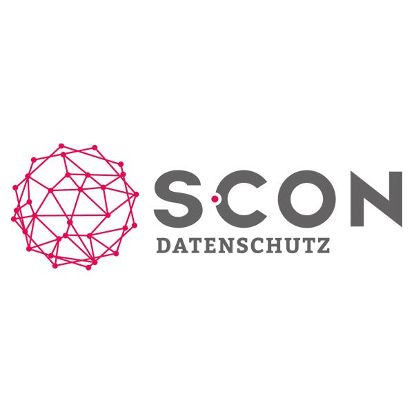 Logo S-CON Datenschutz