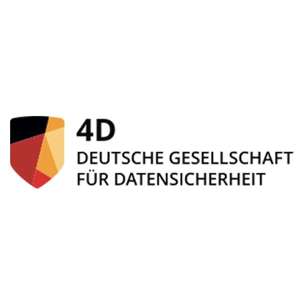 Logo 4D Deutsche Gesellschaft für Datensicherheit