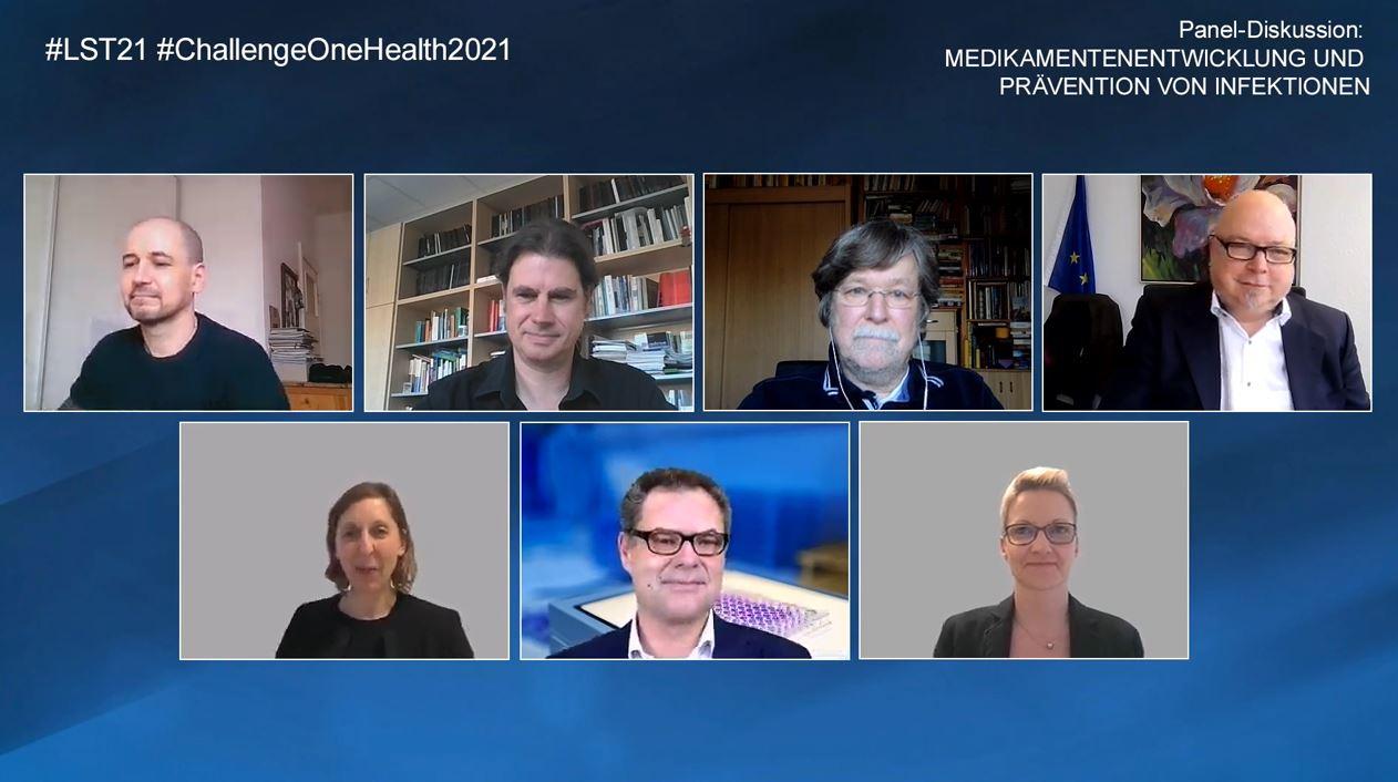 Online-Diskussion beim Niedersächsischen Life Science Tag 2021 mit Professor Dübel, Professor Hust und Co.