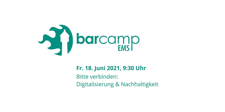 Logo des Barcamp Ems 2021.