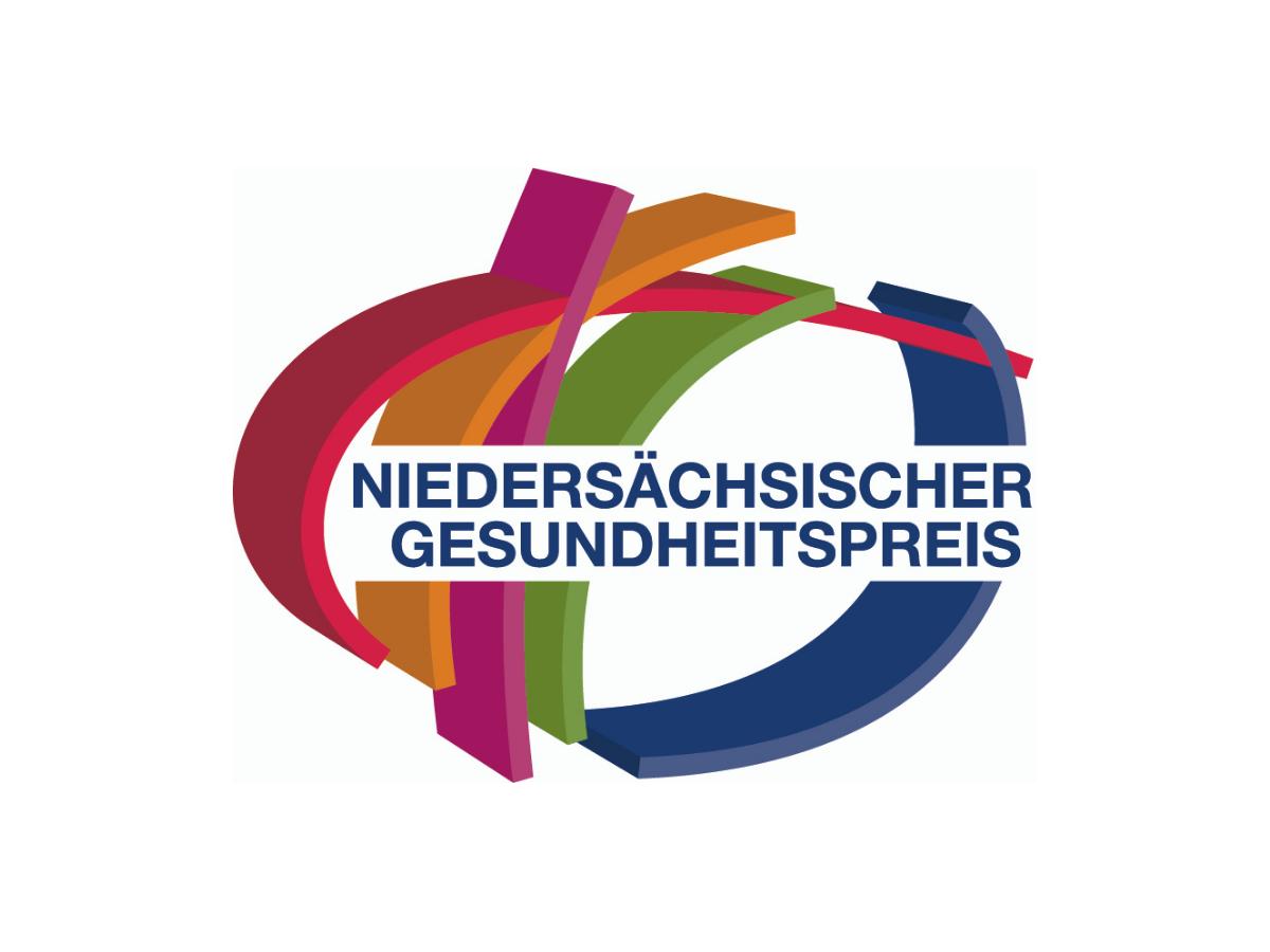Logo des Niedersächsischen Gesundheitspreis.