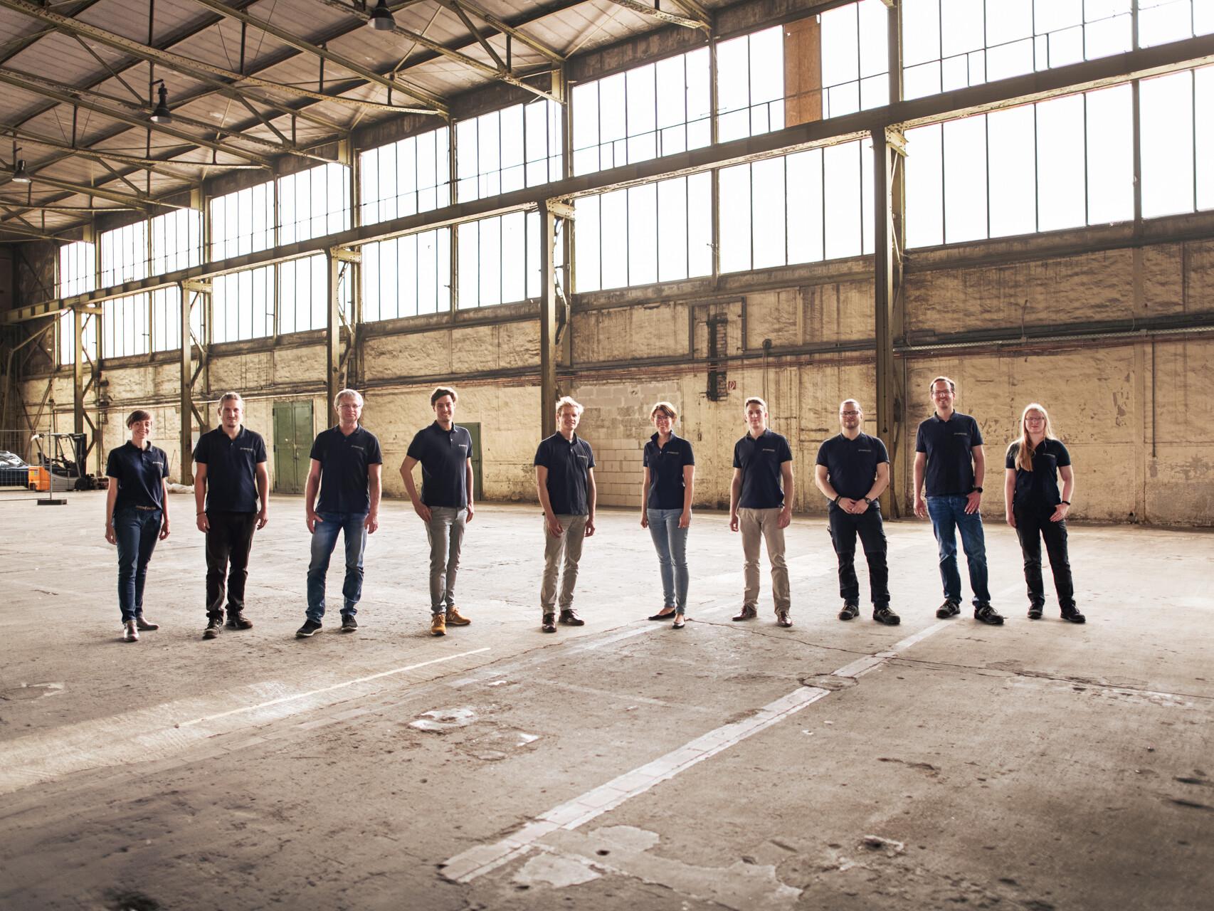 Das Team von FORMHAND.