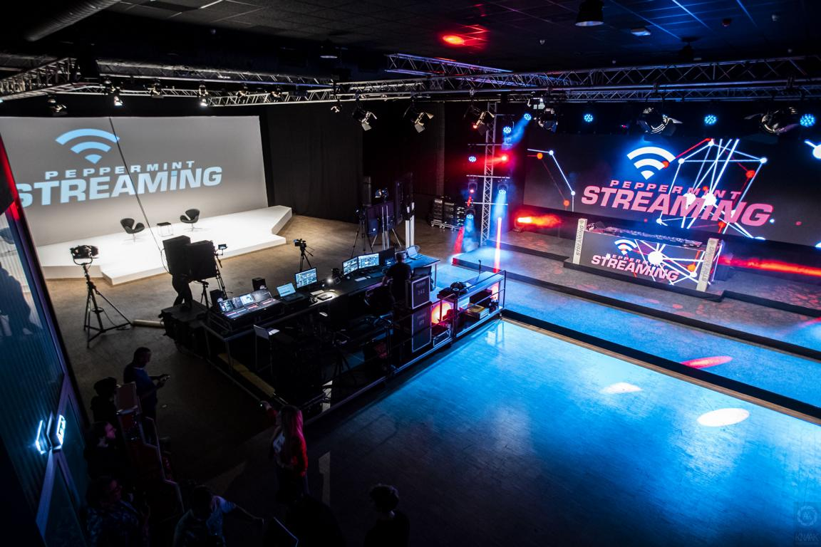 Peppermint Event Streaming-Studio