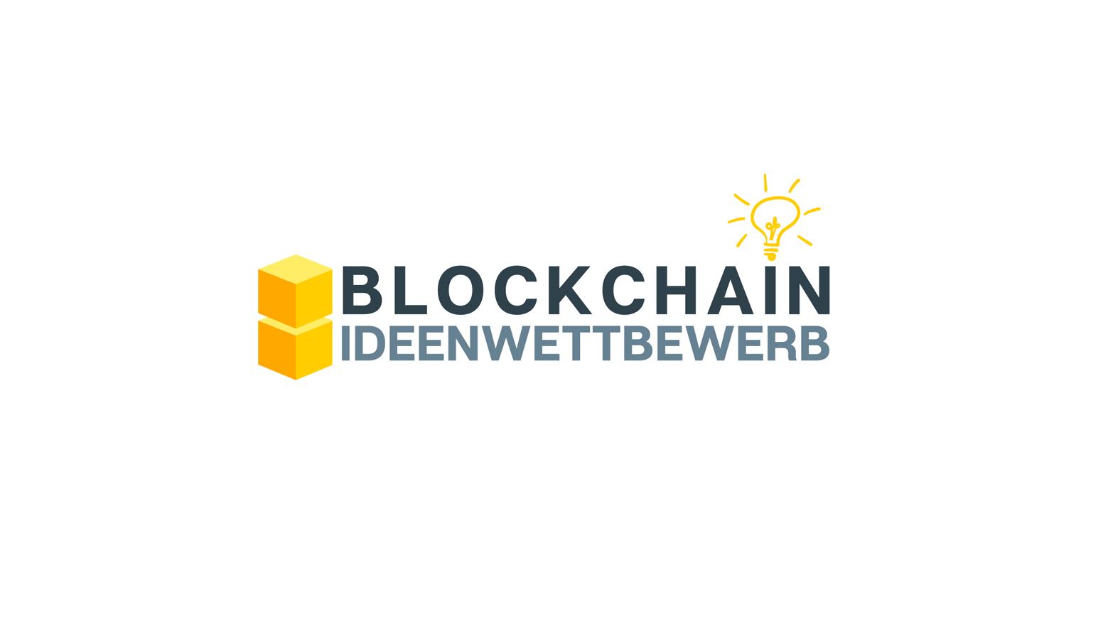 Logo Blockchain Ideenwettbewerb