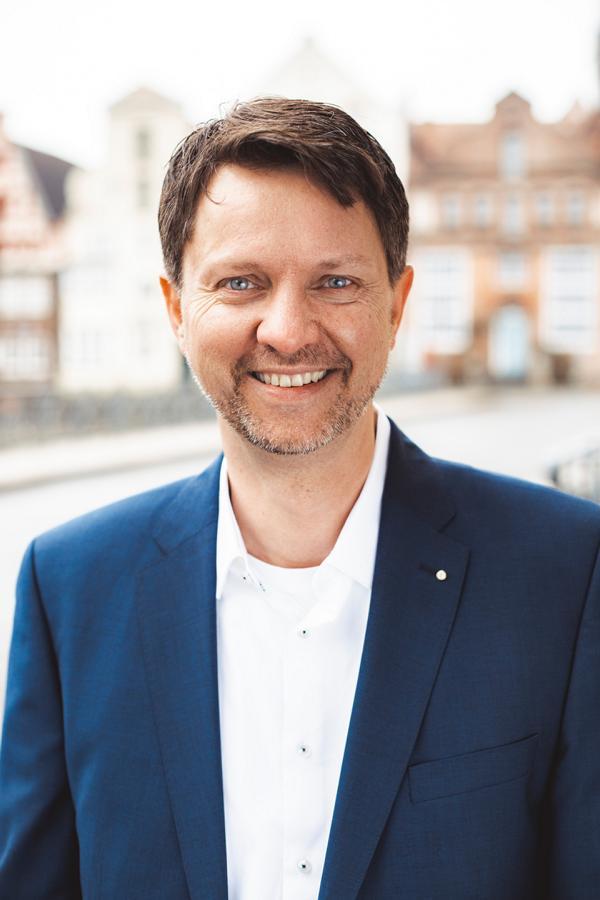 Norman Fittkau, Geschäftsführer der REHA-OT GmbH aus Lüneburg